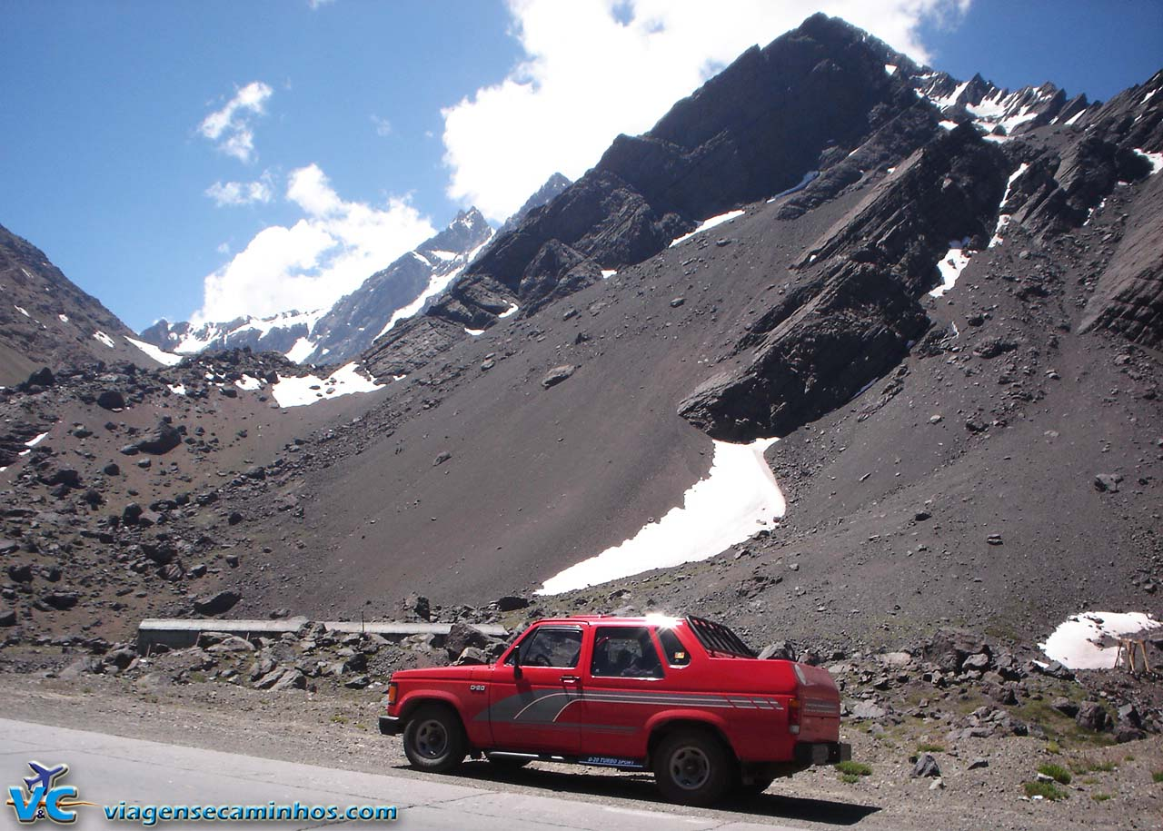 Cordilheira dos Andes - Ruta 7 - Argentina