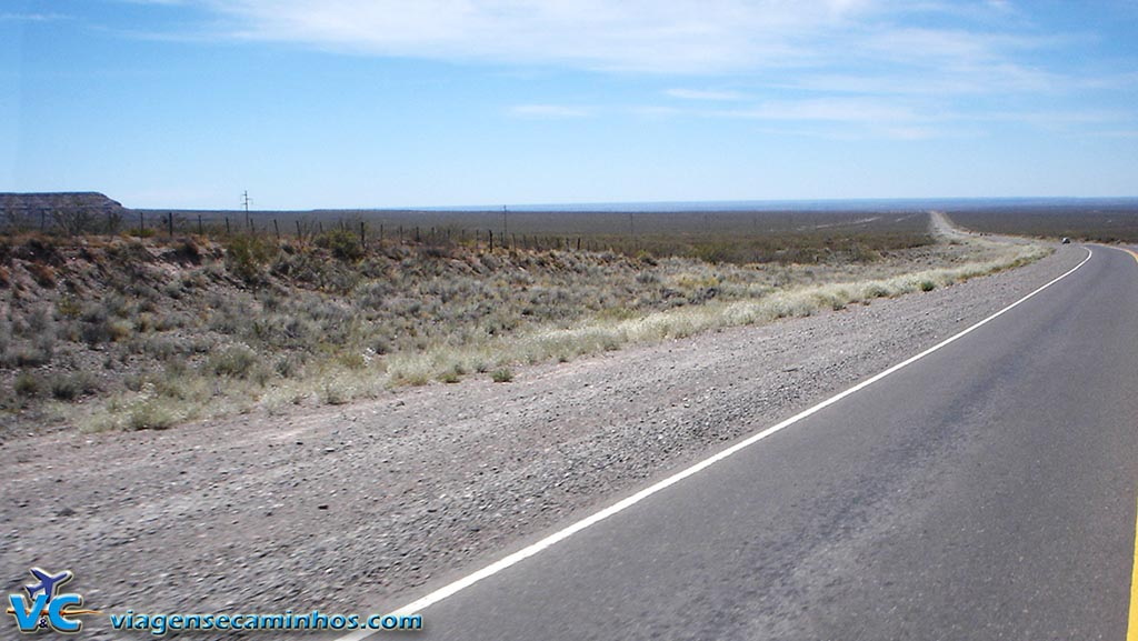 Deserto em Catriel - Argentina