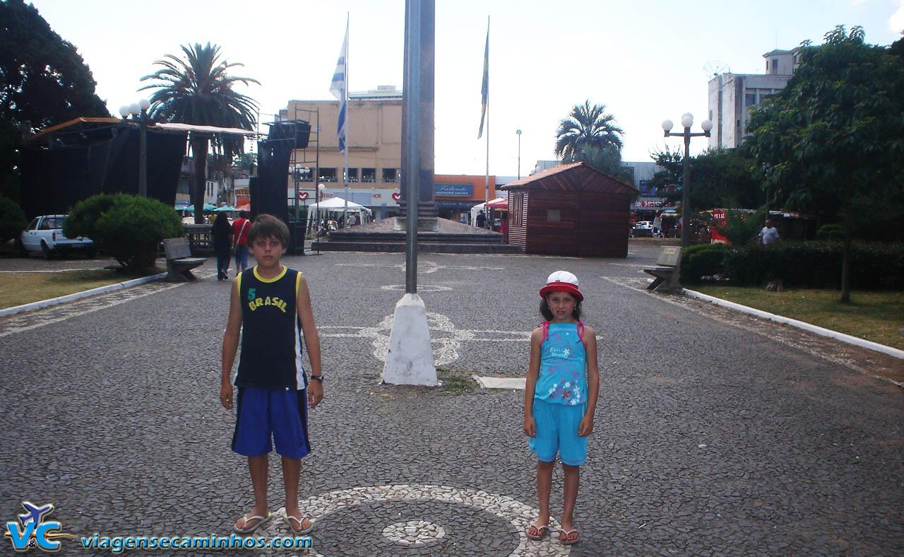 Praça Internacional - Santana do Livramento e Rivera