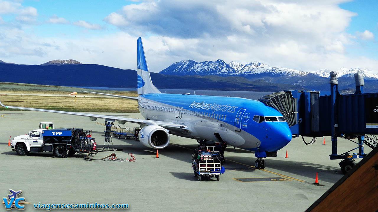 Aeroporto Ushuaia : Aeroporto de ushuaia argentina viagens e caminhos