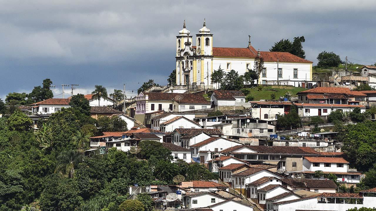 greja Santa Ifigênia - Ouro Preto