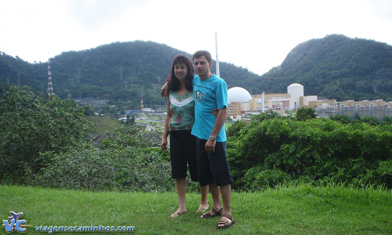 Rodovia Rio-Santos - Vista da Usina Nuclear de Angra dos Reis