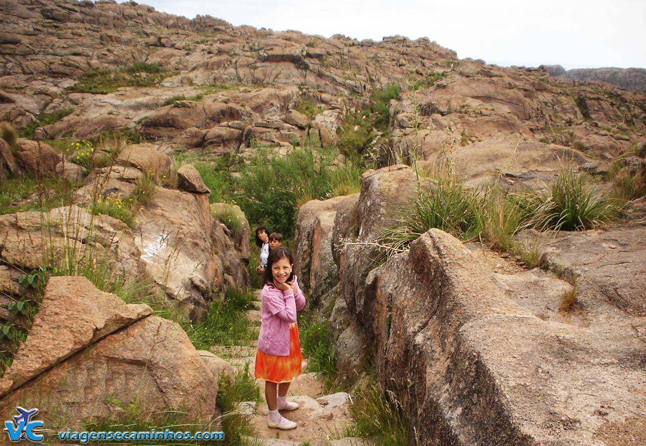 Trilha Cascata Mina Clavero - Altas Cumbres