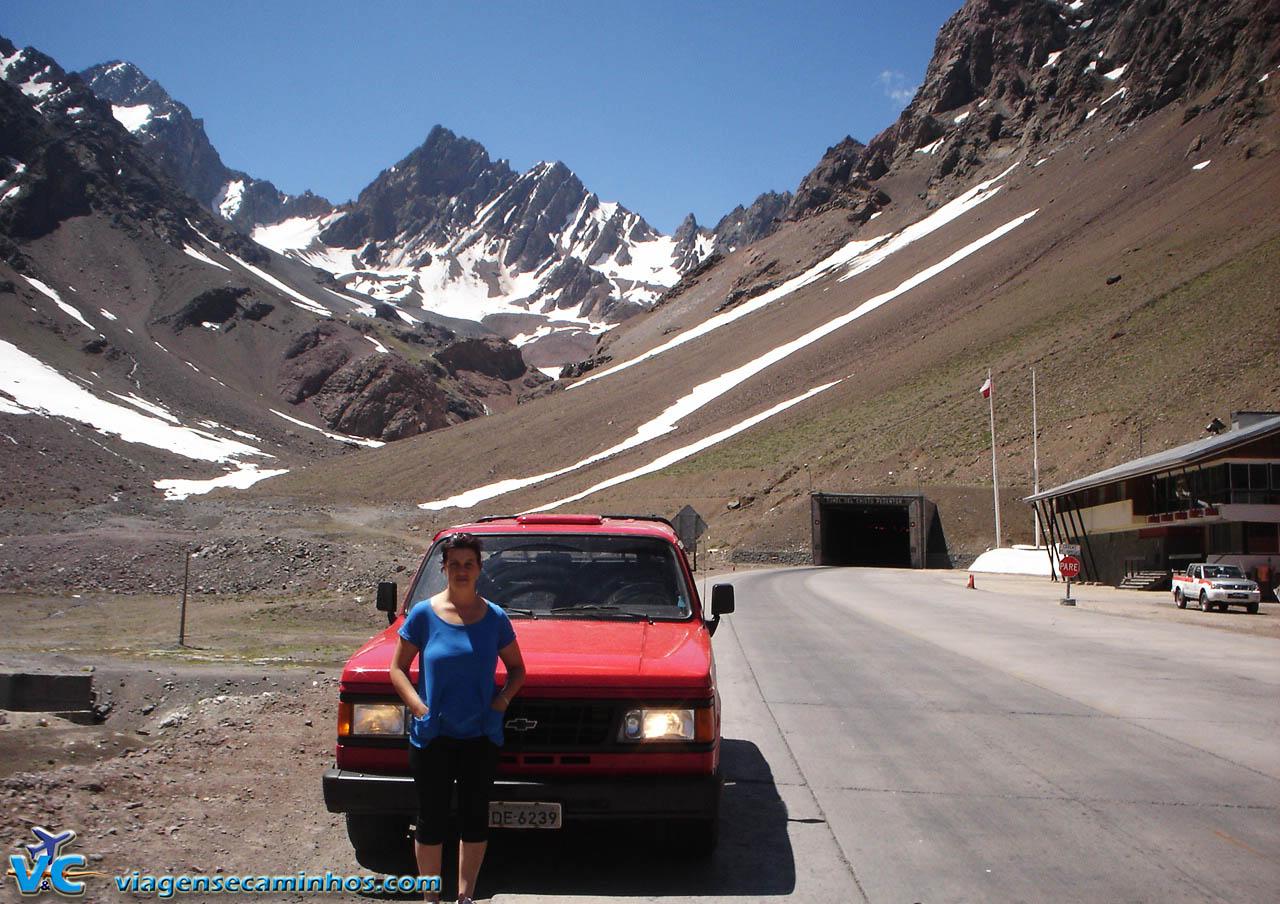 Túnel internacional Cristo Redentor - Chile