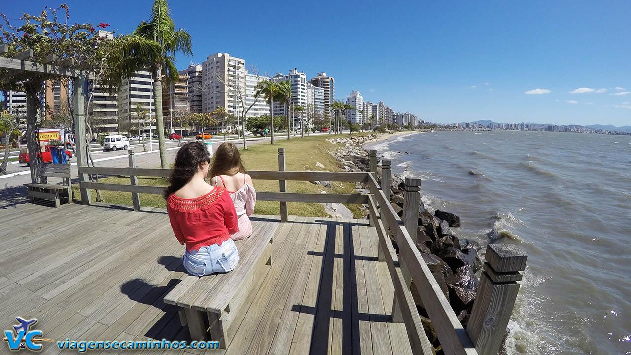 Avenida Beira Mar - Florianópolis