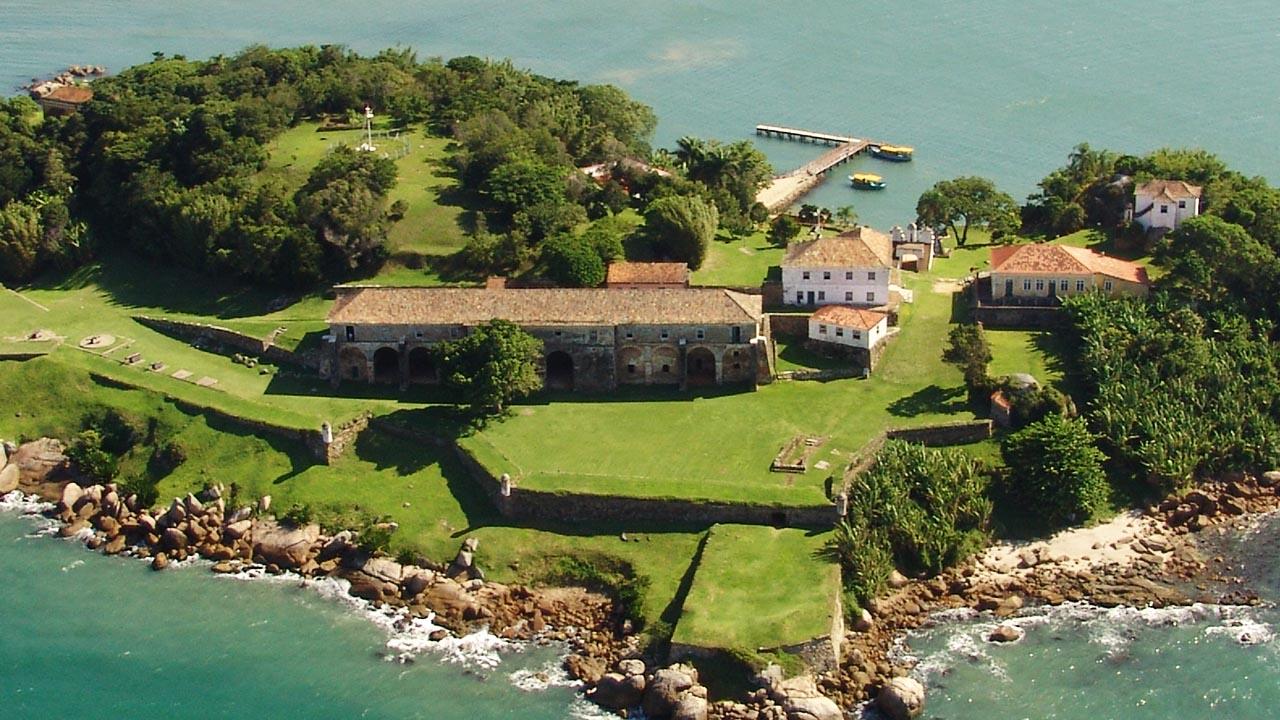 Fortaleza de Santa Cruz do Anhatomirim - Florianópolis