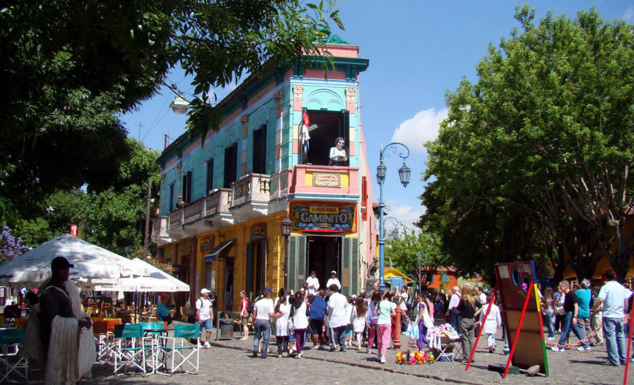 El Caminito - Buenos Aires