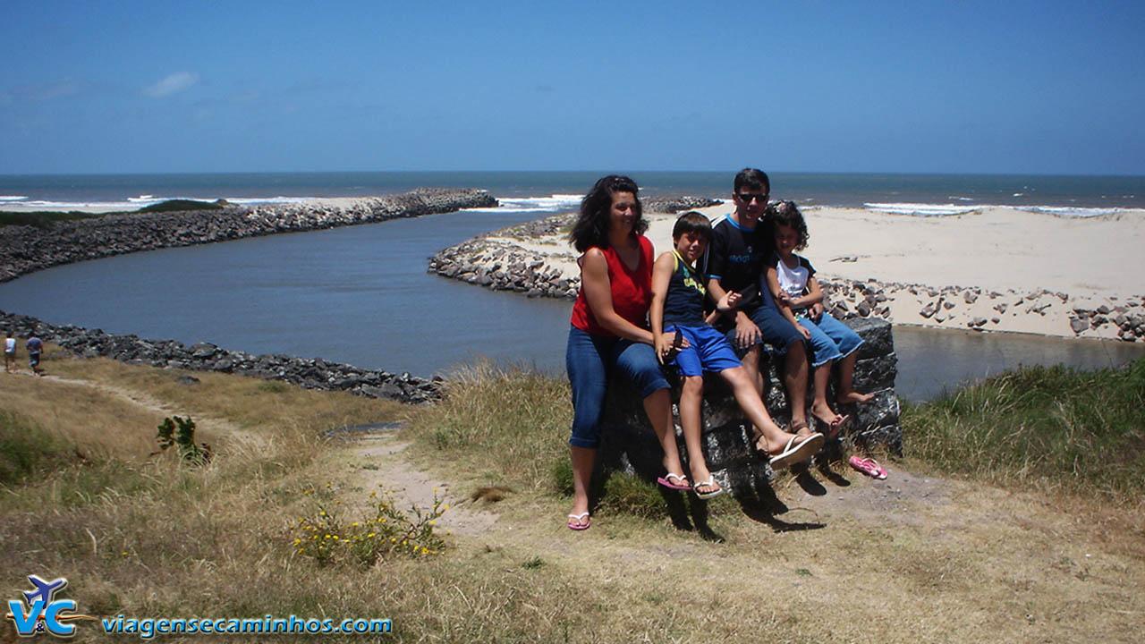 Barra do Chuí - fronteira entre Brasil e Uruguai
