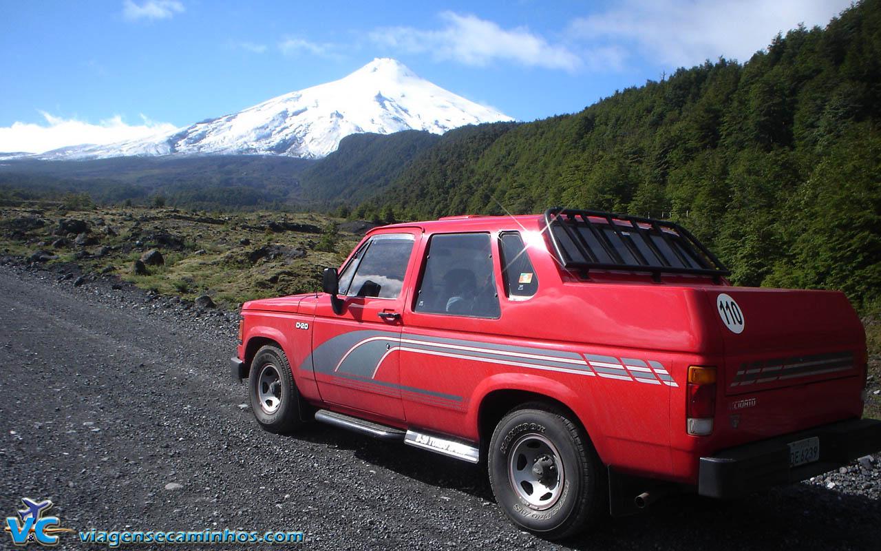 Estrada do Vulcão Villarrica - Pucon