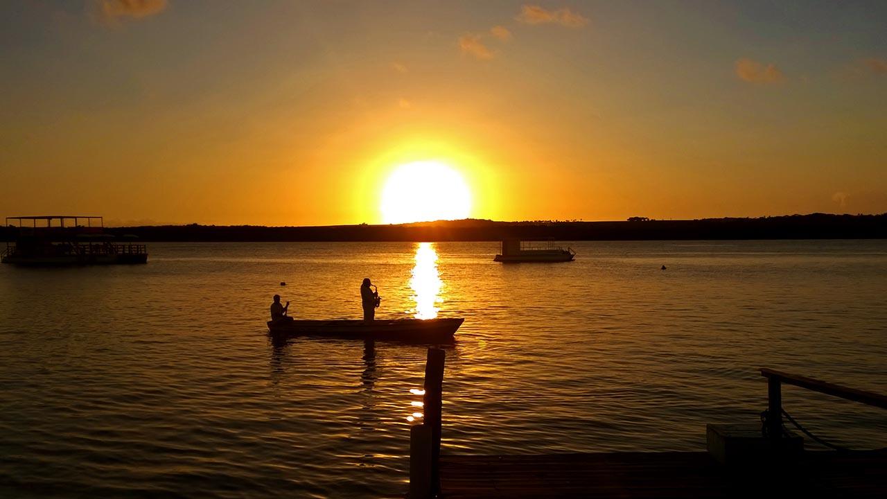 Por do Sol na Praia do Jacaré - João Pessoa