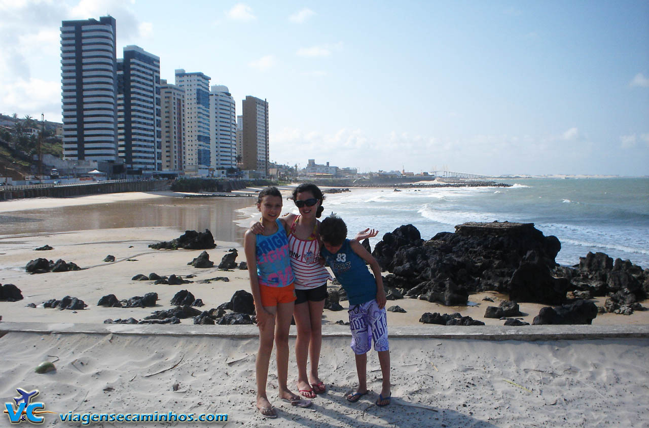 Praia da Areia Preta - Natal