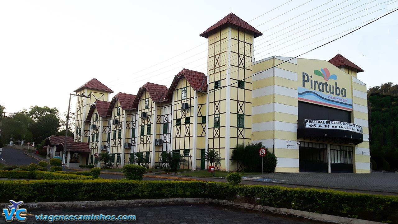 Centro de eventos de Piratuba