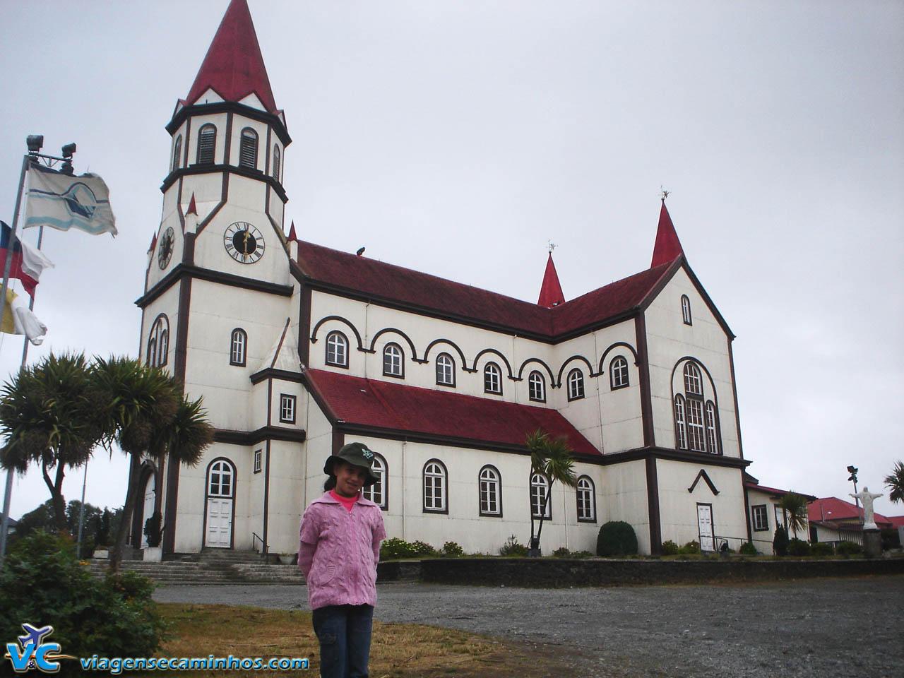 Igreja matriz de Puerto Varas