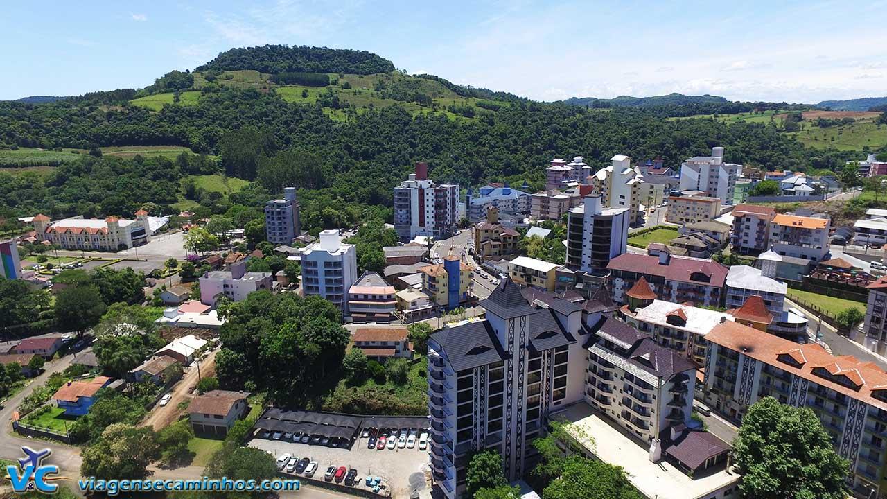 Vista aérea de Piratuba
