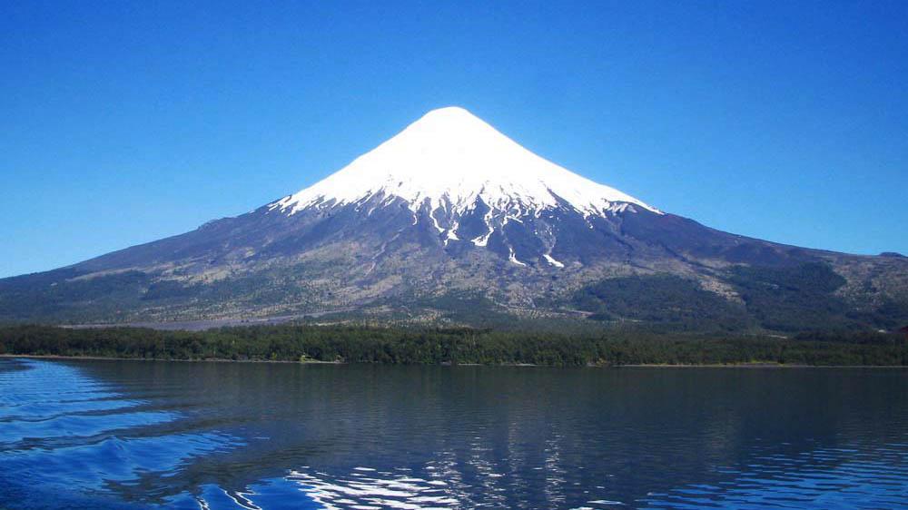 Lago Llanquihue e Vulcão Osorno