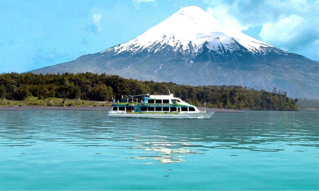 Lago de Todos os Santos e Vulcão Osorno - Puerto Varas