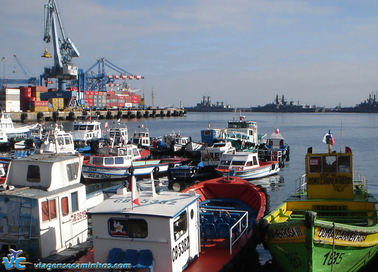 Cais do Porto de Valparaíso