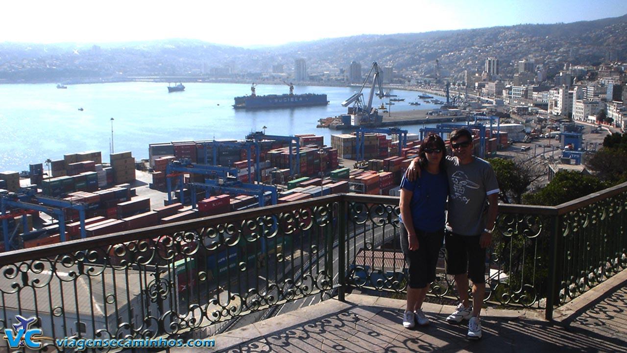 Mirante do porto - Valparaíso