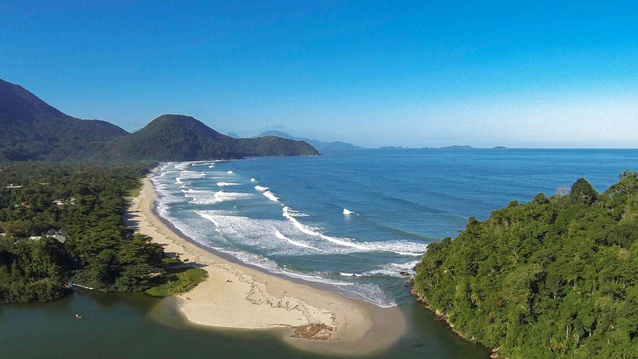 Ubatuba - Praia Itamambuca