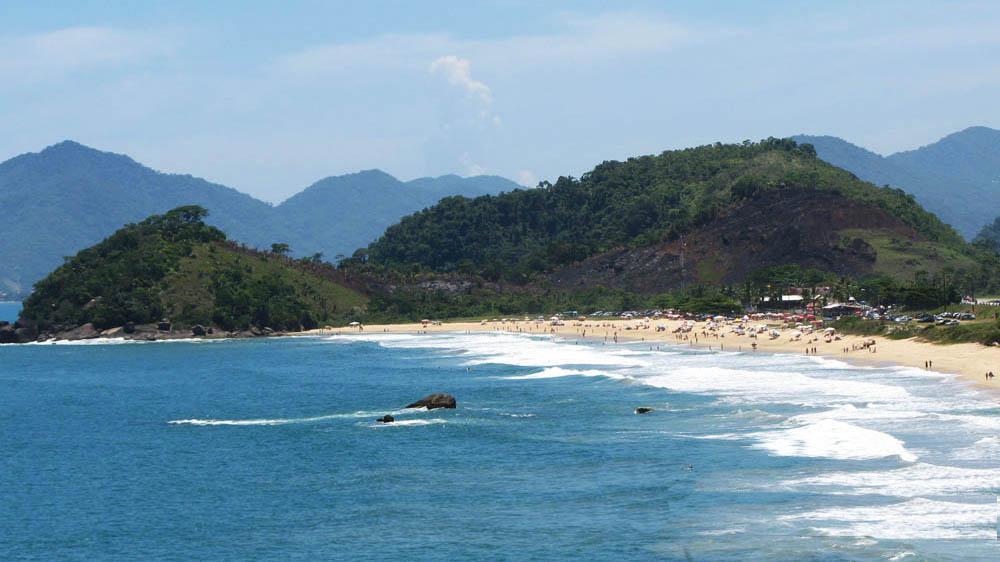Ubatuba - Praia Vermelha do Norte