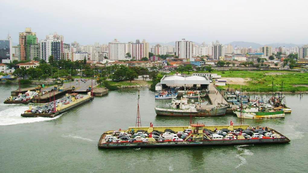Balsa Santos - Guarujá