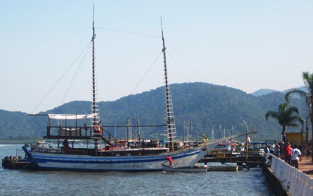 Bertioga - Passeio de barco