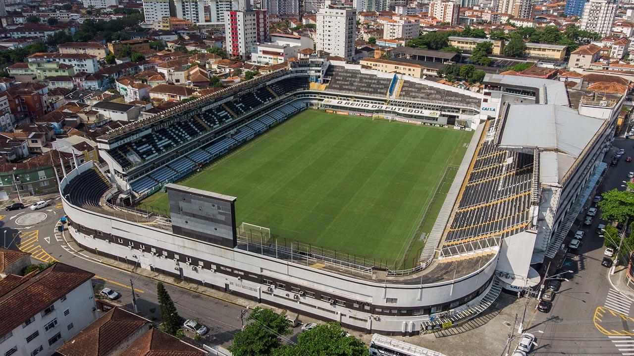 Estádio Vila Belmiro - Santos