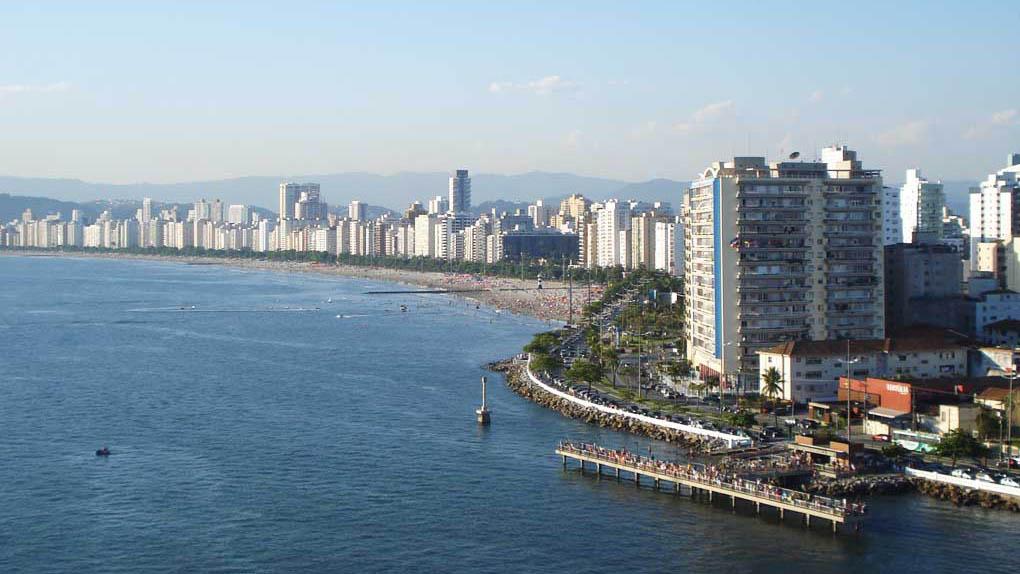 Ponta da Praia- Santos