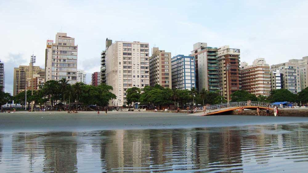 Praia de Aparecida - Santos