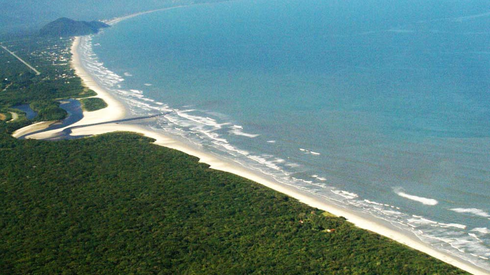 Praia Itaguaré - Bertioga