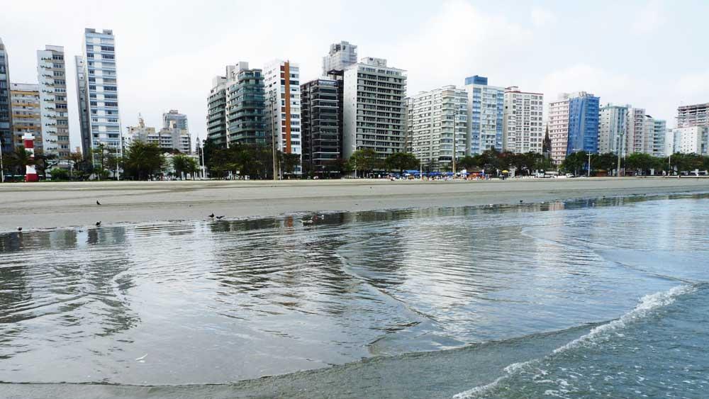 Praia Pompéia - Santos
