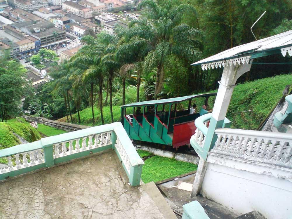 Subida do Monte Serrat - Santos
