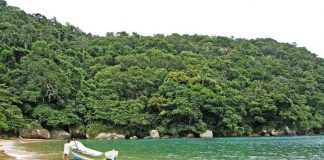 Praia Saco do Eustáquio - Ilhabela