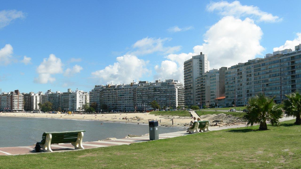 Montevideo - Praia Pocitos