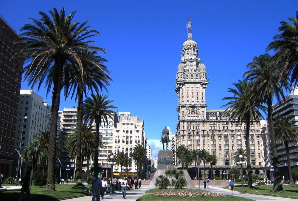 Praça Independência - Montevideo