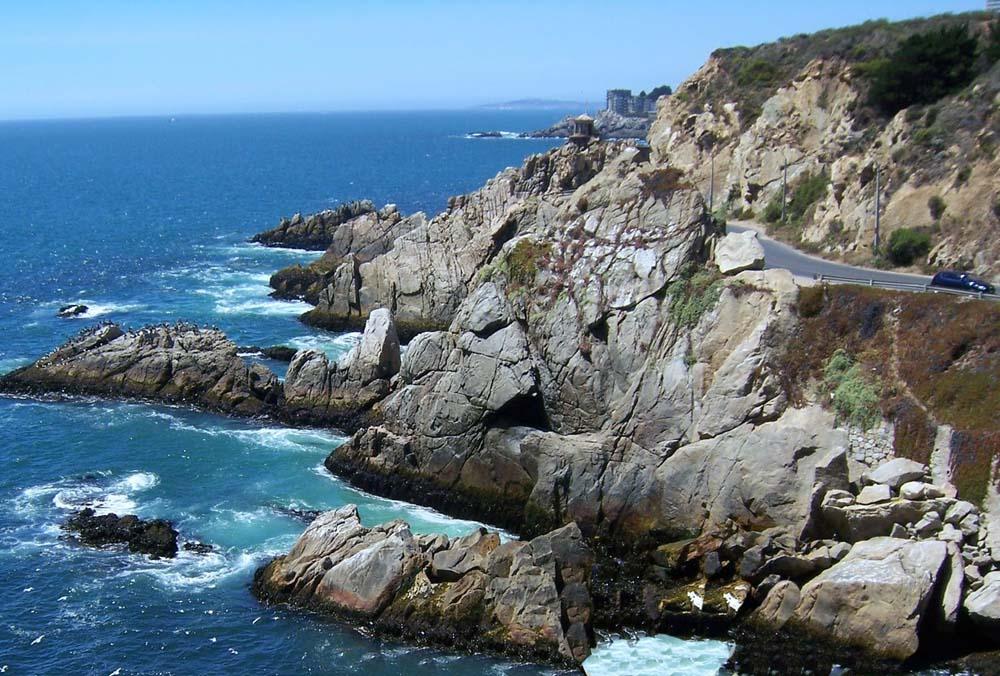 Concón - Caminho costeiro