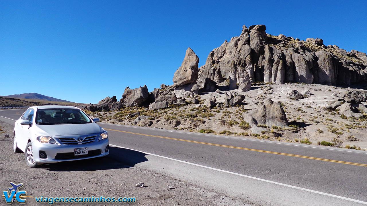 Estrada entre Arequipa e Juliaca