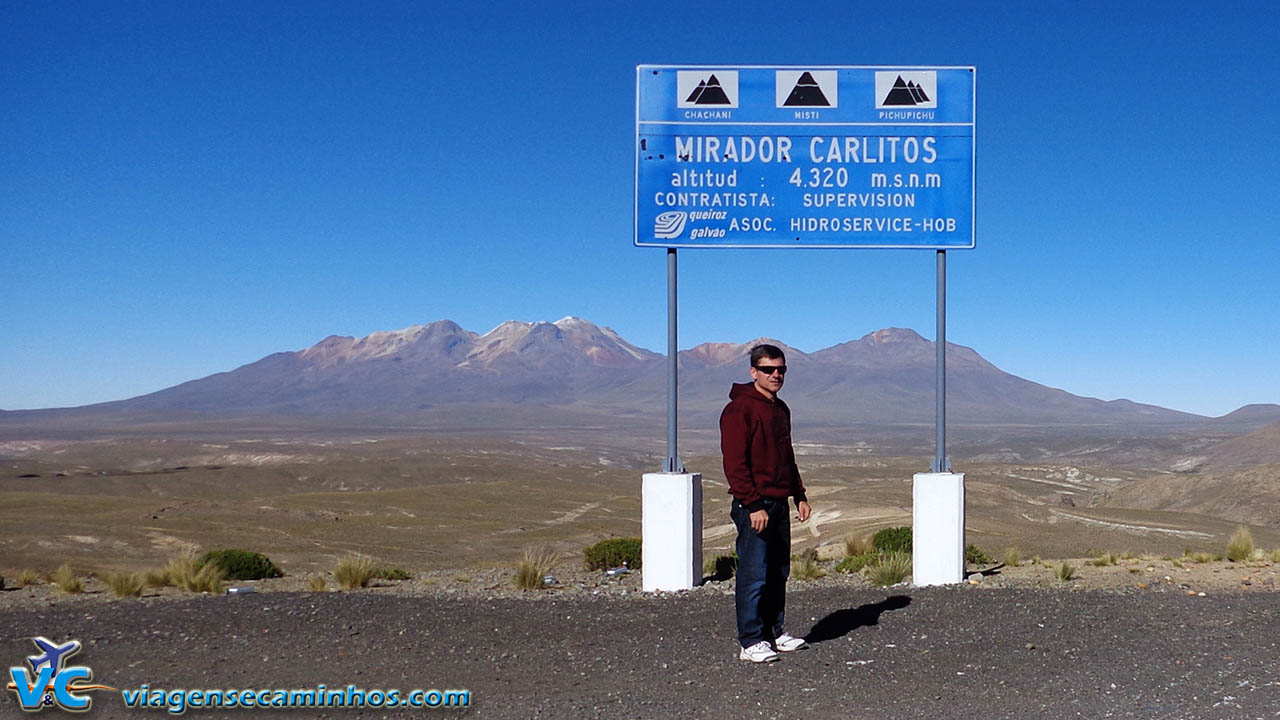 Mirante Carlitos - 4320 m de altitude