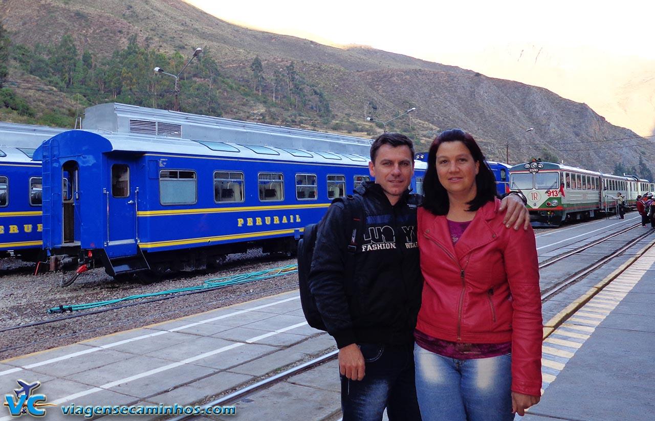 Estação de trem de Ollamtaytambo