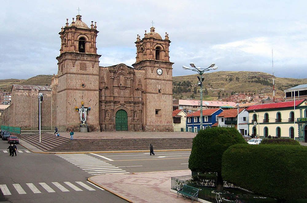 Igreja matriz de Puno - Peru
