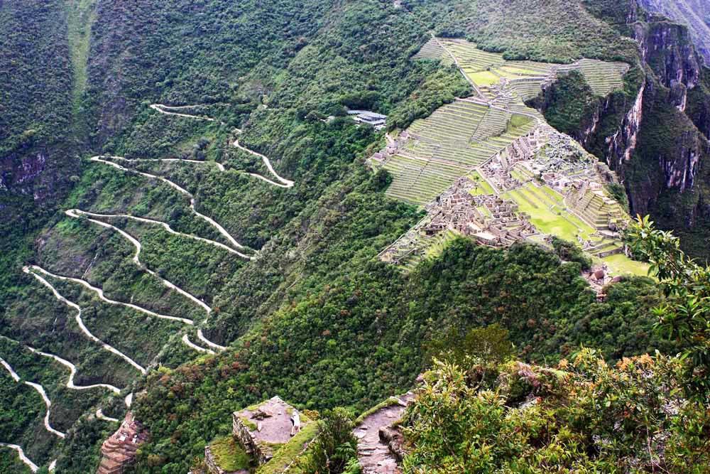 Estrada de acesso a Machu Pichu