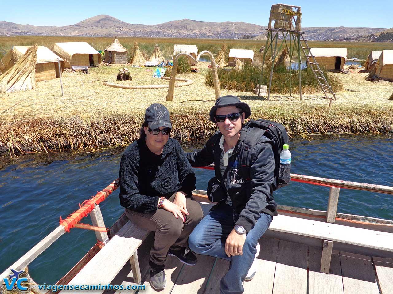 Ilhas flutuantes dos Uros - Lago Titicaca