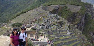 Machu Pichu vista do sentido contrário