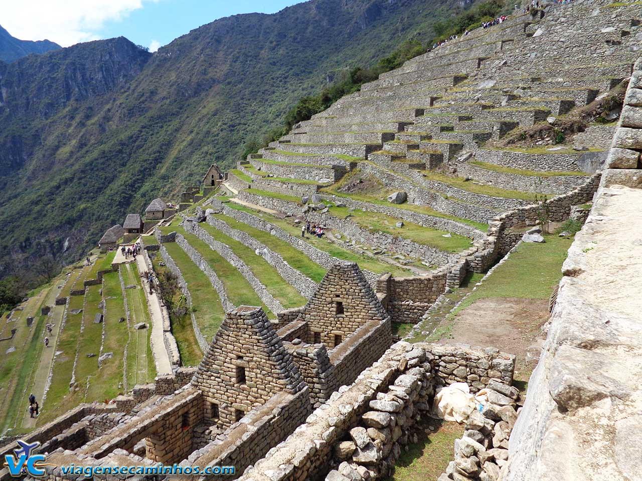 Terraços de Machu Pichu