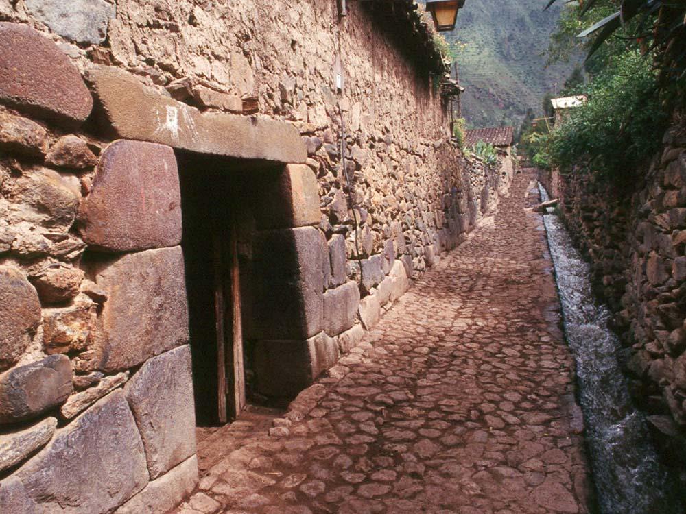 Ruas de Ollamtaytambo