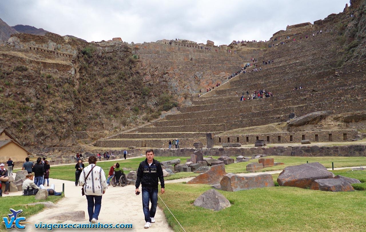Parque arqueológico de Ollamtaytambo - Peru
