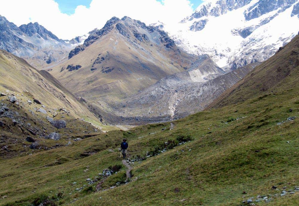 Trecho da Trilha Salcantay