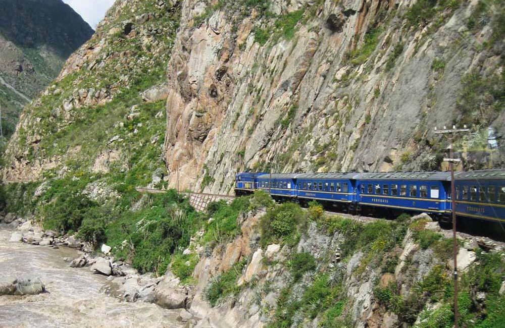 Trem para Machu Pichu