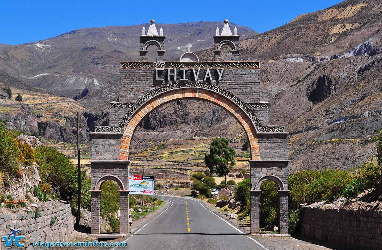 Portal da cidade de Chivay - Peru