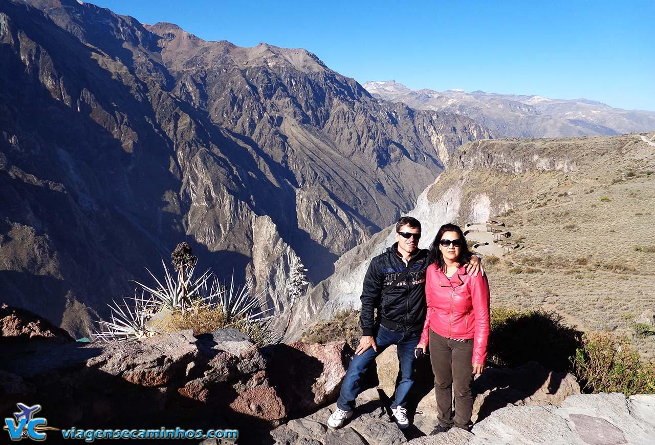Mirante do Condor - Cânion Colca - Peru